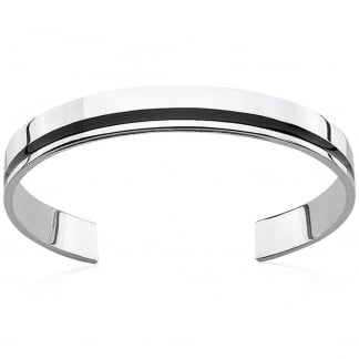 Men's Flat Torque Style Bangle