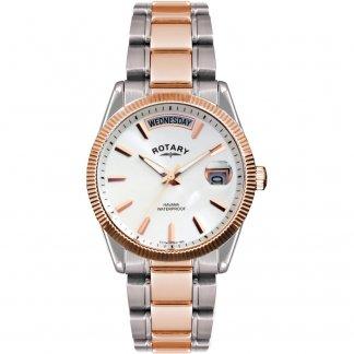 Men's Functional Two Tone Havana Watch GB02662/06