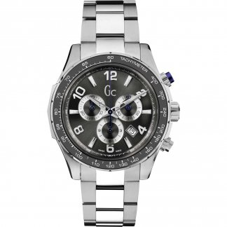 Men's TechnoSport Steel Chronograph Watch