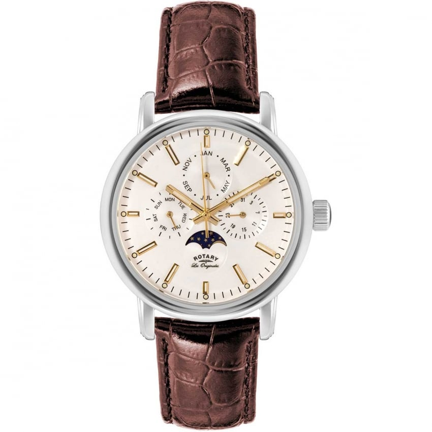 Rotary Men's Greenwich Les Originales Moonphase Watch GS90135/32