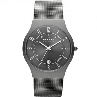 Men's Grenen Titanium Mesh Bracelet Watch