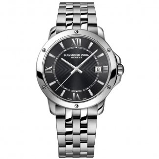 Men's Grey Dial Date Display Tango Watch 5591-ST-00607