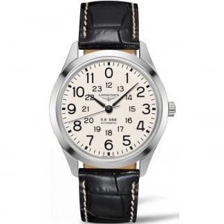 Men's Heritage Military 1935 'Longines Railroad' Watch
