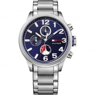Men's Jackson Steel Bracelet Multifunction Watch