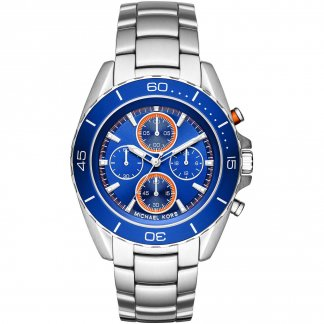 Men's Jetmaster Blue Dial Chronograph Watch