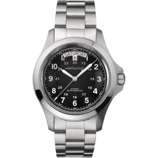 Men's Khaki Field Steel King Automatic Watch