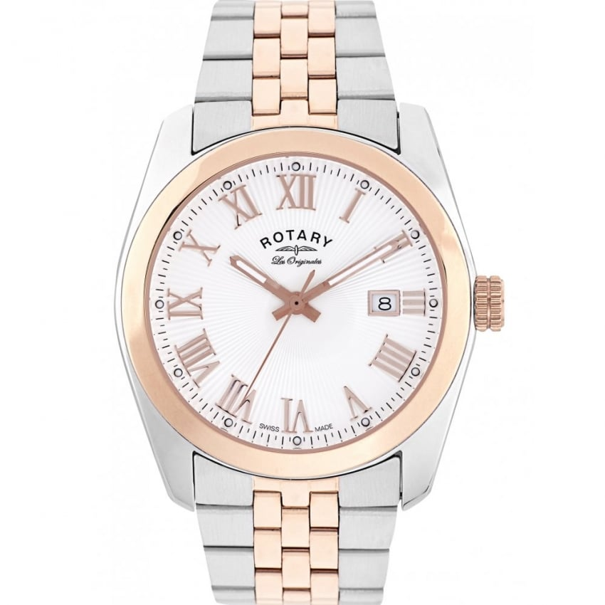 Rotary Men's Lausanne Two Tone Les Originales Watch GB90111/01