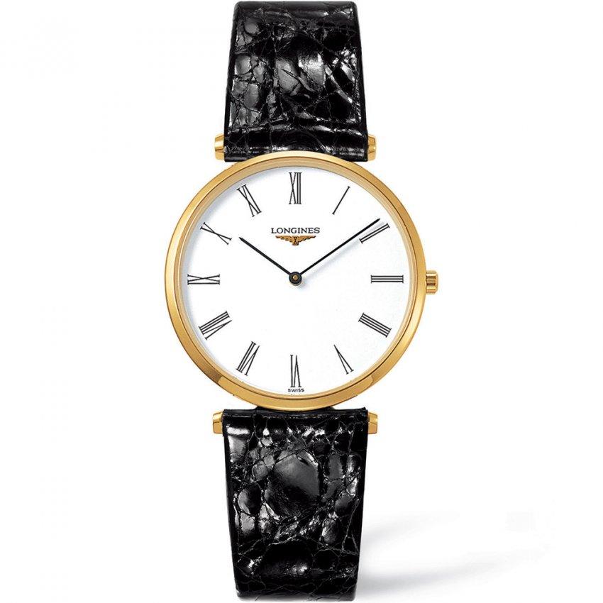 Longines Men's Leather Strap La Grande Classique Watch L4.709.2.11.2