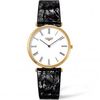 Men's Leather Strap La Grande Classique Watch L4.709.2.11.2