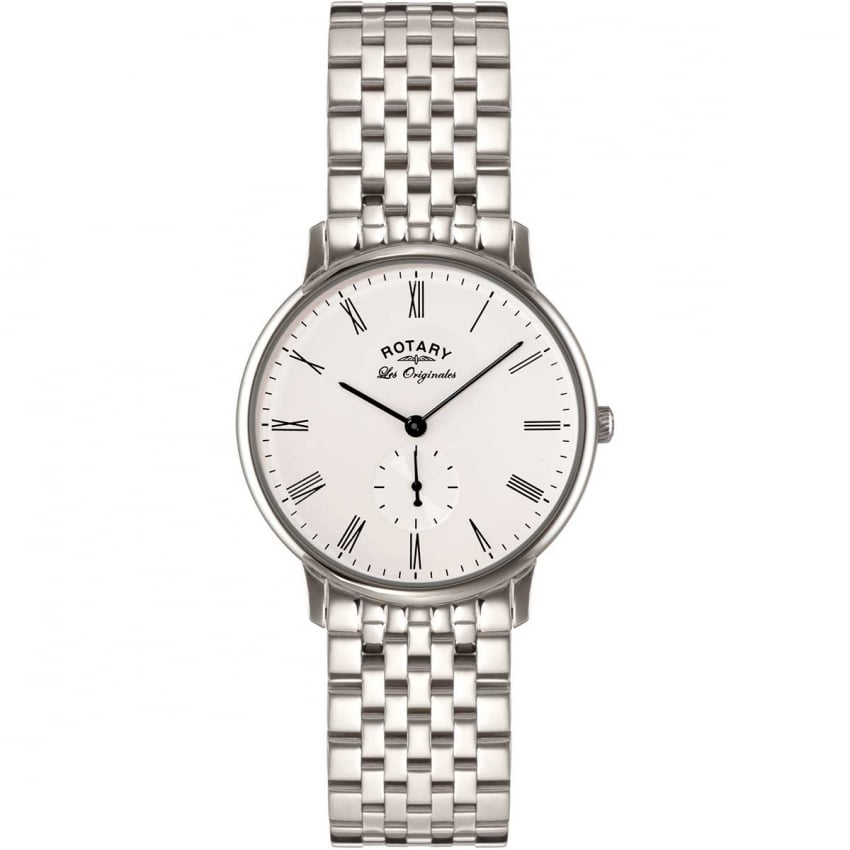 Men's Les Originales Steel Kensington Watch GB90050/01