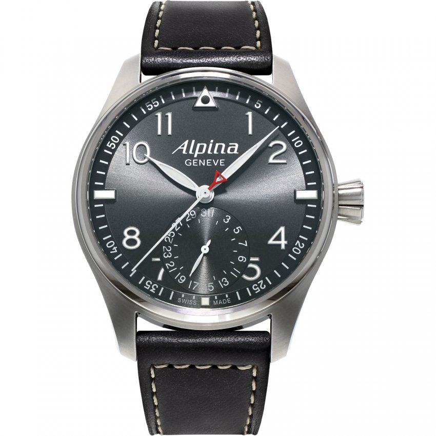 Alpina Men's Limited Edition Startimer Pilot Watch AL-710G4S6