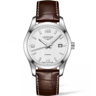 Men's Conquest Classic Automatic Watch L2.785.4.76.3