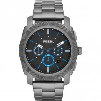 Men's Machine Chronograph Smoke Bracelet Watch