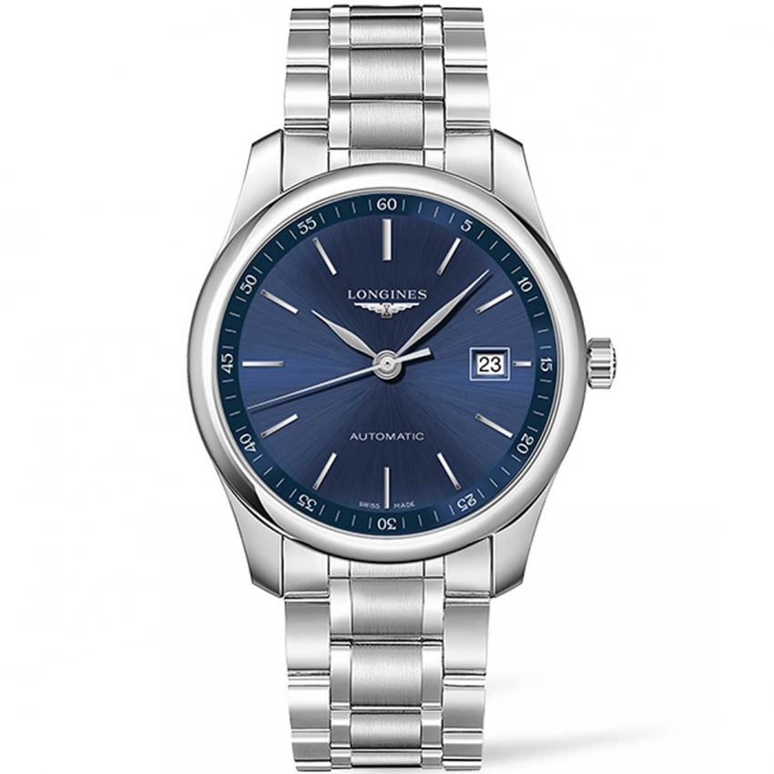 Longines Men's Master Collection 40MM Blue Dial Automatic Watch L2.793.4.92.6