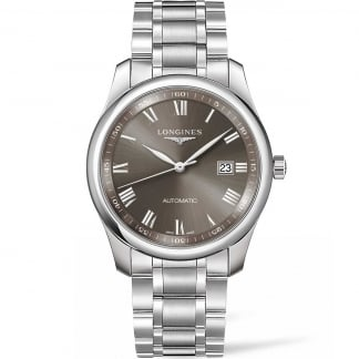 Men's Master Collection 40MM Grey Dial Automatic Watch