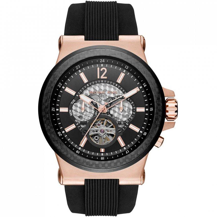 Michael Kors Men's Dylan Skeleton Dial Automatic Watch MK9019