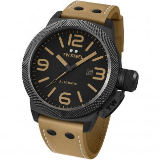 Men's Oversized 50MM Canteen Automatic Watch TWA203