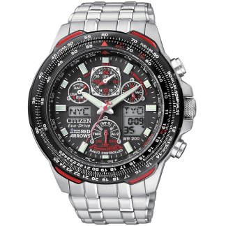 Men's Feature Rich Red Arrows Skyhawk A.T Watch JY0100-59E