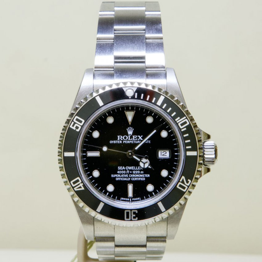 Pre-Owned Rolex Men's SeaDweller 16600 (2007) 4018599