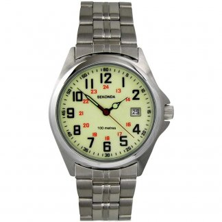 Men's Luminous 100M Military-Style Watch
