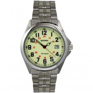 Men's Luminous 100M Military-Style Watch 3031