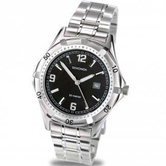 Men's Quartz Stainless Steel Sports Watch