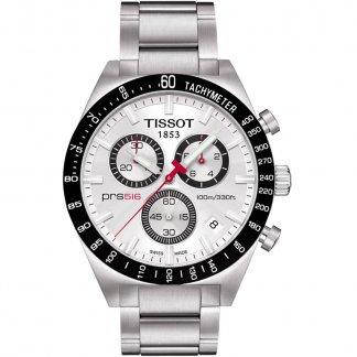 Men's Silver Dial PRS 516 Chronograph Watch T044.417.21.031.00