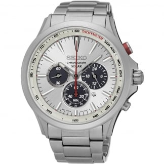 Men's Solar Sports Chronograph Watch