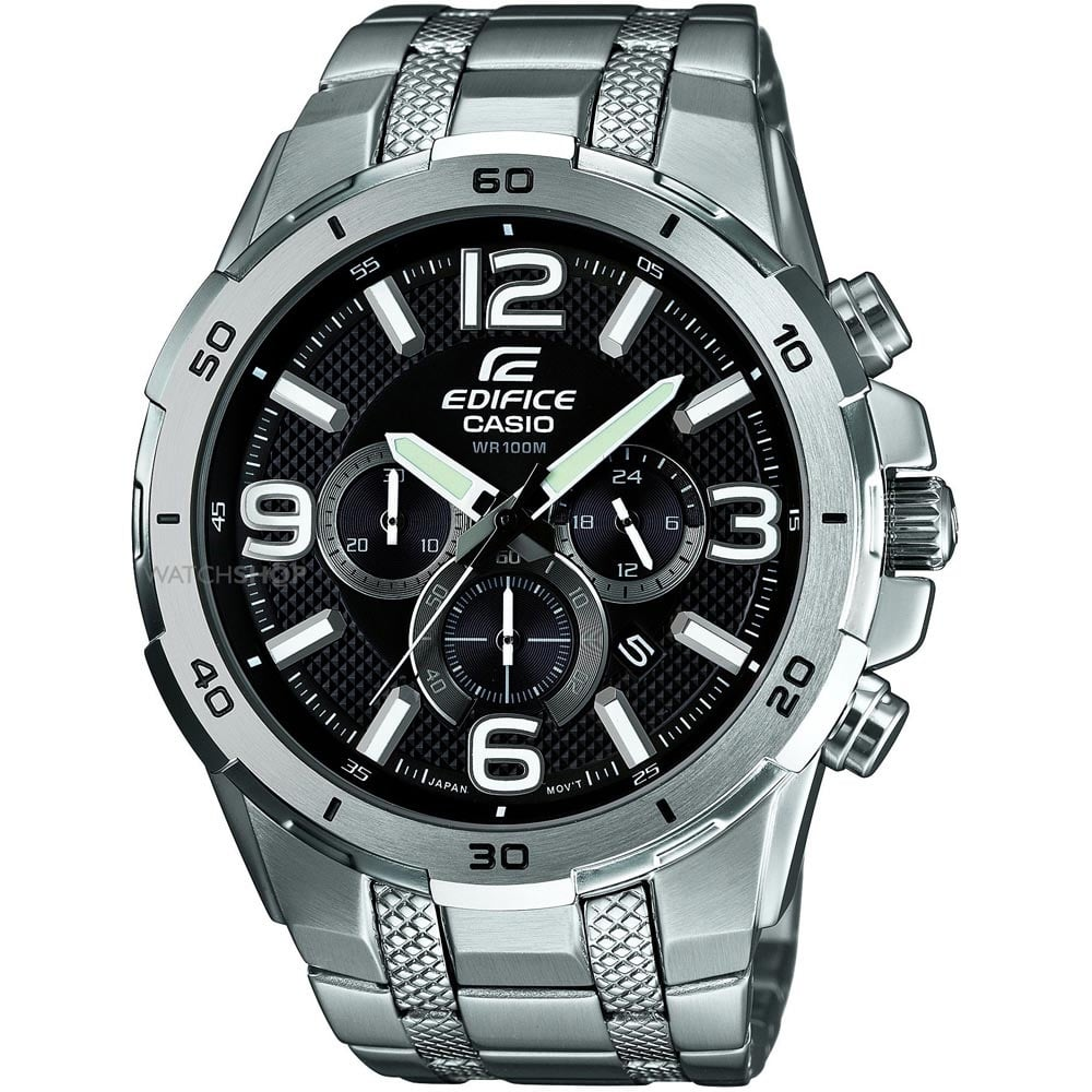 96a4104ad Casio Edifice Men's Stainless Steel Chronograph Watch Product Code:  EFR-538D-1AVUEF