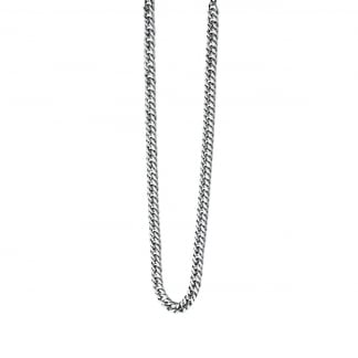 Men's Stainless Steel Curbed Chain