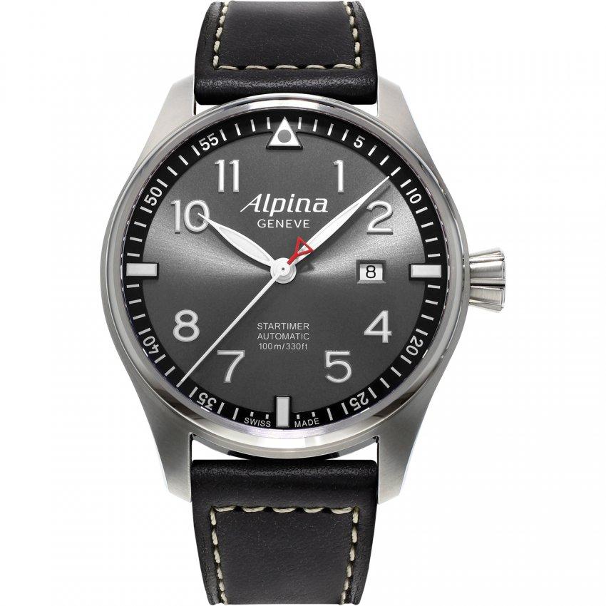 Alpina Men's Automatic Startimer Pilot 'Sunstar' Watch AL-525GB4S6