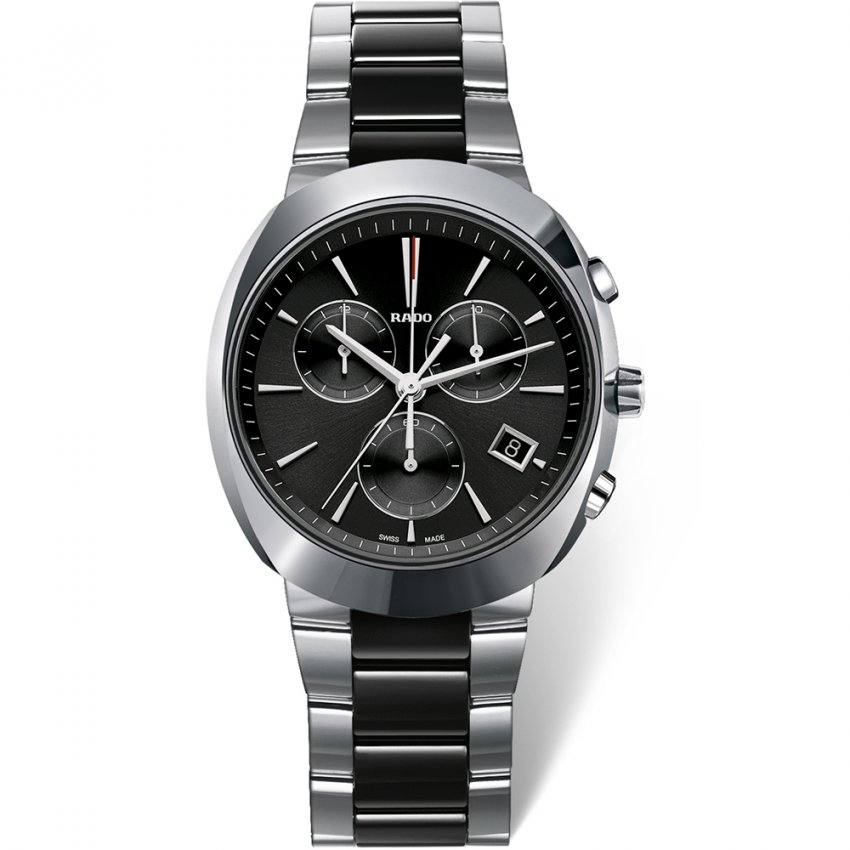 RADO Men's Stainless Steel D-Star Chronograph Watch R15937172