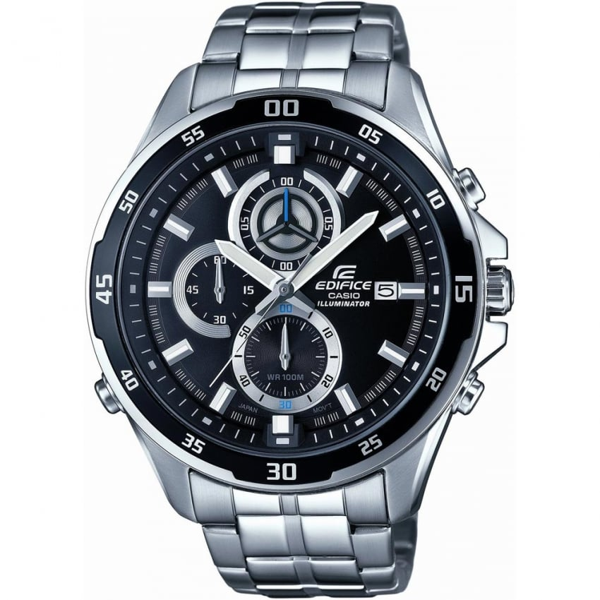 Casio Edifice Men's Super-Illuminator Chronograph Watch EFR-547D-1AVUEF