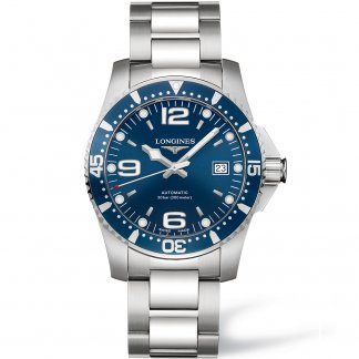 Men's Swiss Automatic HydroConquest Watch L3.642.4.96.6