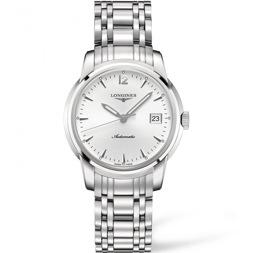 Longines Men's Swiss Automatic Saint Imier Silver Dial Watch L2.763.4.72.6