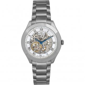 Men's Swiss Automatic Skeleton Dial Jura Watch