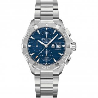Men's Blue Dial Calibre 16 Automatic Aquaracer Watch CAY2112.BA0925