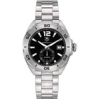 Men's Calibre 6 Swiss Automatic Formula 1 Black Dial Watch WAZ2110.BA0875