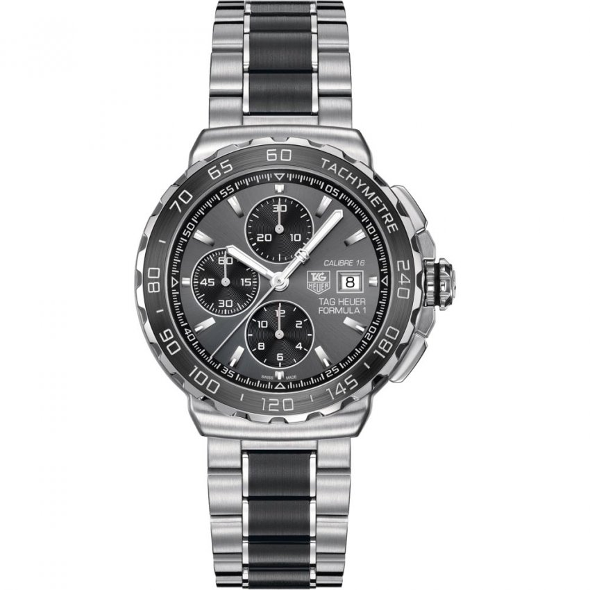 TAG Heuer Men's Two Tone Formula 1 Automatic Chronograph Watch CAU2010.BA0873