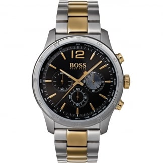 Men's The Professional Two Tone Bracelet Watch