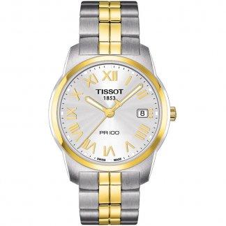 Men's PR 100 Two Tone Quartz Watch T049.410.22.033.01