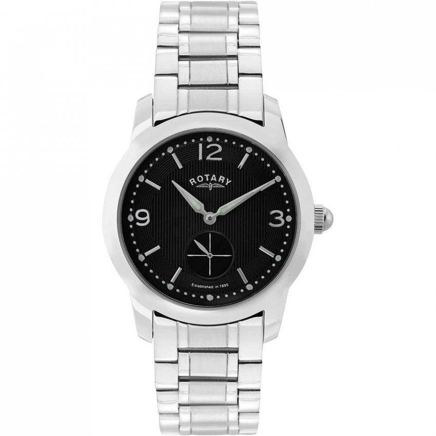 Men's Traditional All Steel Cambridge Watch GB02700/04