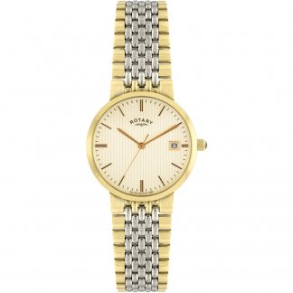 Men's Two Tone Champagne Dial Watch GB00497/03