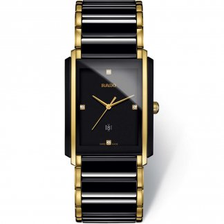 Men's Two Tone Integral Jubile Diamond Set Watch