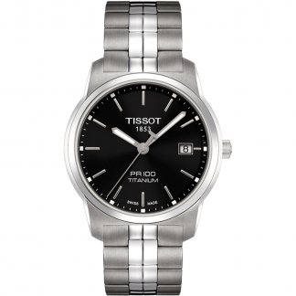 Men's Two Tone Titanium PR 100 Watch T049.410.44.051.00