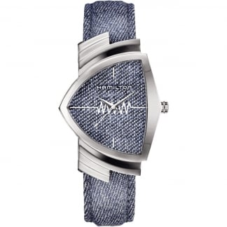Men's Ventura Classic Blue Denim Watch Pre-Order