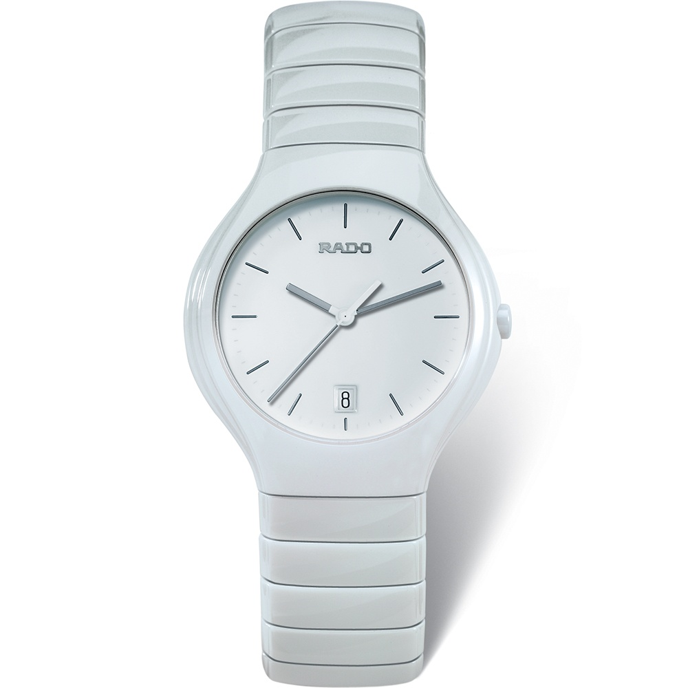 ca188193ed6 RADO Men s White Ceramic Swiss Quartz True Watch Product Code  R27695022