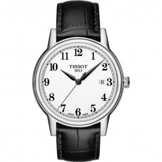 Men's White Dial Steel Case Carson Watch T085.410.16.012.00