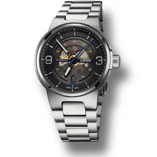 Men's Williams Engine Date Automatic Skeleton Watch