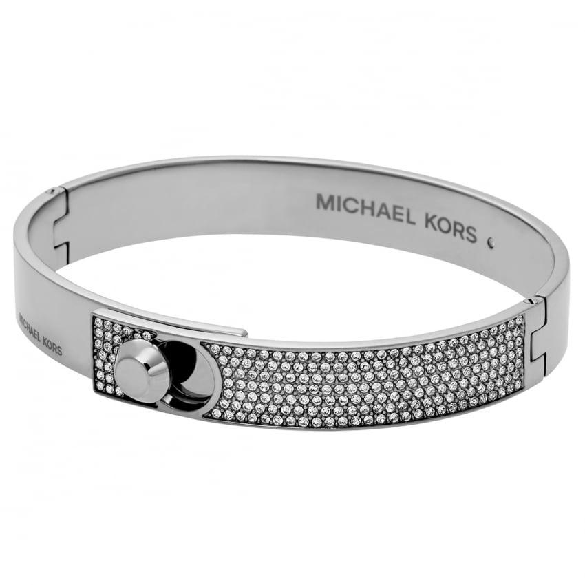 Michael Kors Silver Astor Stud Bangle MKJ4903040